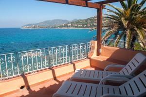 Villa AngelaD - veranda vista mare