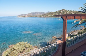 Villa AngelaD - Vista mare dalla veranda